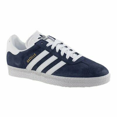 "ADIDAS ORIGINALS MENS ""GAZELLE ll"" TRAINERS BLUE SUEDE FINISH UK MENS SIZES"