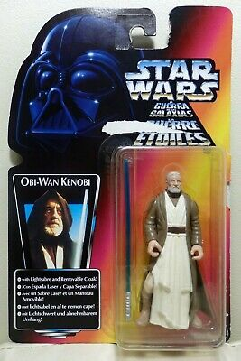 "Star Wars Kenner 3.75"" The Power of the Force OBI-WAN KENOBI ¡como nuevo!"