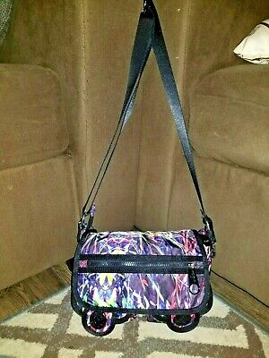 67b82c81533 KIPLING CRISPIN VERY Berry Pink Zip Top Nylon Shoulder Bag - $63.00 ...