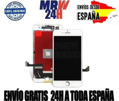 Pantalla Iphone 7 Plus Lcd + Tactil Color Blanco 100% Original Envio 24h Gratis