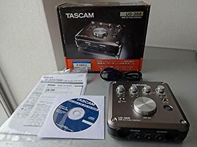 Tascam US-366 USB 2.0 Audio Interface DSP Mixer Installed Black 96 / 192 kHz F/S