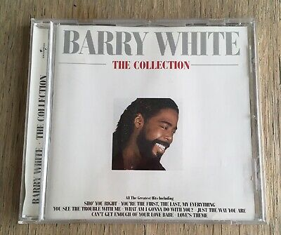 Barry White - The Collection - The very best of - Greatest Hits - CD Album