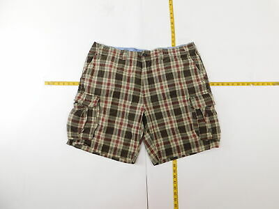 Mens St. John's Bay 44 Regular  Cargo Shorts Brown   Cotton