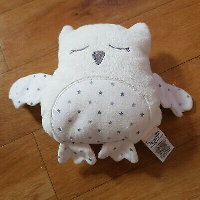 Marks And Spencer Owl Soft Toy Plush Comforter Soother Star Print M&S