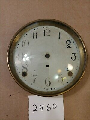 Seth Thomas  Mantle Clock Dial & Bezel & Glass From 89 Movement