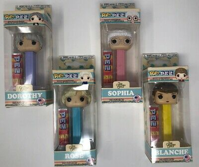 Funko Pop! The Golden Girls Limited Edition PEZ Candy & Dispensers- 4 Piece Set