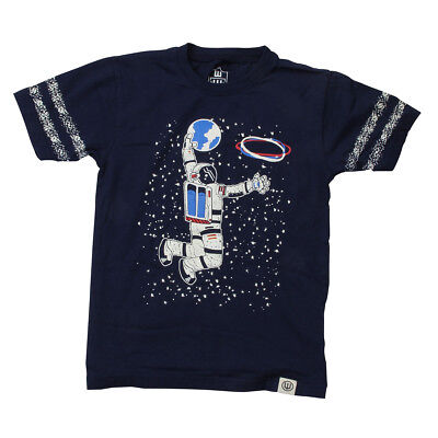 NEW Toddler Boy's Wes & Willy Glow Slam Dunk Astronaut T-Shirt $25 - Choose Size