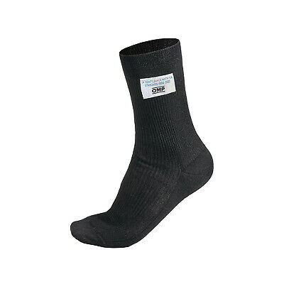 OMP CLASSIC black short socks (with FIA homologation) - Genuine - XS