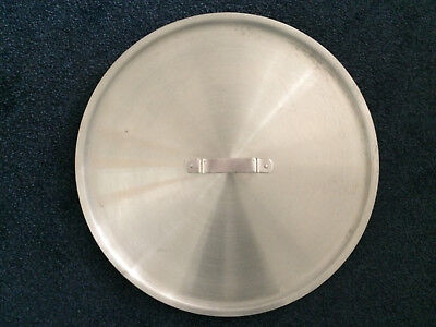 LARGE STAINLESS STEEL HEAVY DUTY CATERING STOCK POT LID DIAMETER 460mm