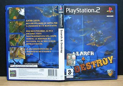SEARCH & DESTROY - PS2 - PlayStation 2 - PAL - Italiano - Usato
