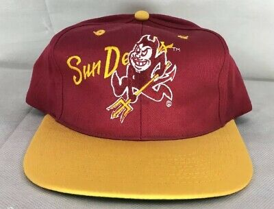 0a7258d8 VINTAGE ASU SNAPBACK Hat Arizona State University New Cap - $29.99 ...