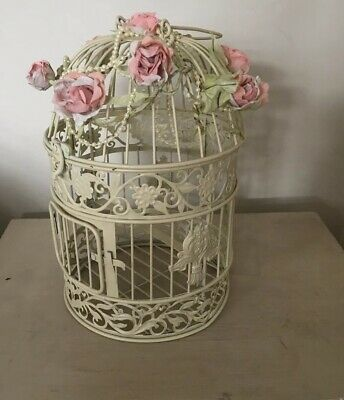Shabby Chic Style Decor Bird Cage Wedding Table Centerpiece Birdcage