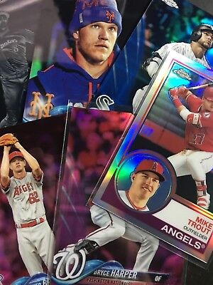 2018 Topps Chrome Rookie Inserts Parallel - Pick Your Player