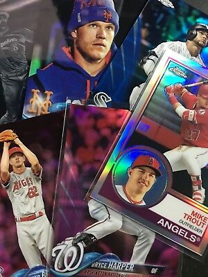2018 Topps Chrome Rookie Inserts Refractor - Pick Your Player