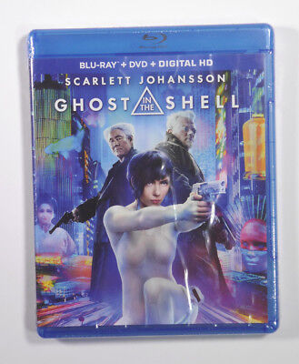 Ghost in the Shell blu ray/ DVD/Digital HD - New - factory sealed Johannson