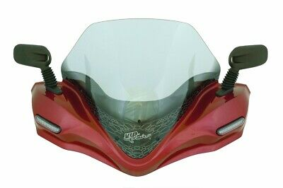 Windshield Yamaha Grizzly 660 2004 Radiant Red Metallic DL-09 **