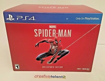 Marvel's Spider-Man Collector's Edition for Sony PS4 + DLC - *NO CONSOLE*