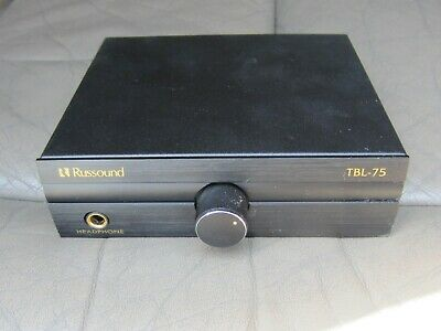 nice Russound TBL-75 Tabletop Volume Control w/ Headphone Jack