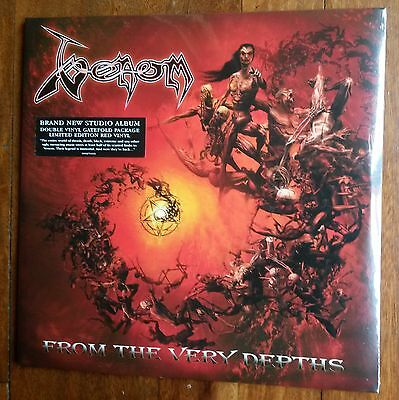 Venom-From The Very Depths 2x lp BLOOD RED VINYL- Limited Edition RSD-NEW SEALED
