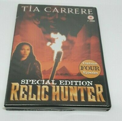 Relic Hunter Special Edtition Volume 2 DVD Tia Carrere New UK R0 Sealed