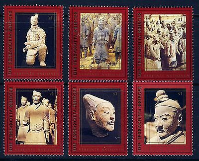 UN Vienna 1997 China World Heritage . Booklet Singles/6 . Mint Never Hinged