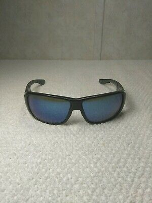 37b08c5d7a997 COSTA DEL MAR Double Haul Sunglasses Black Frame Blue Lenses