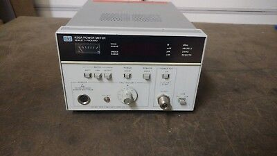 Hewlett Packard HP Agilent Model No. # 436A Digital RF Power Meter