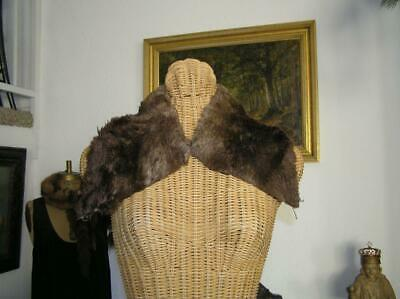 Alaska Sheared Beaver Pelt Fur Collar For Coat Sweater or Crafts