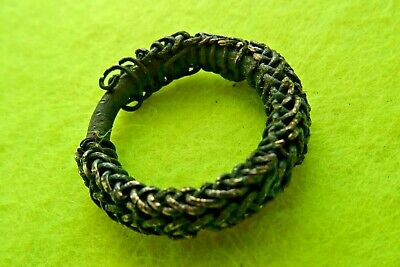 Viking Ancient Decorative Bronze Finger Ring
