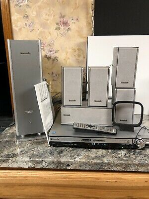 Panasonic SA-HT700 Surround Sound Home Theater System W/ Remote Manual Speakers