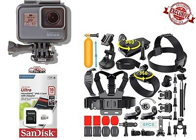 GoPro HERO 5 Black Edition With 40 PCS Extremely Sports Accessories CHDRB-501