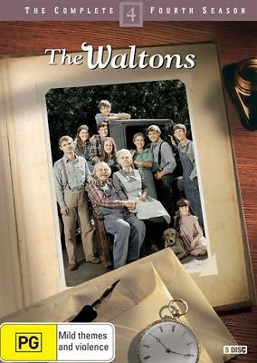 The Waltons The Complete 4th Season 5-Disc Set Region 4 DVD Brand New Sealed