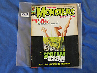 Famous Monsters Magazine #90 (May 1972) Vincent Price, Christopher Lee 189138