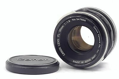 【EXC++】 Canon FL 50mm f/1.8 Standard Lens From Japan #079