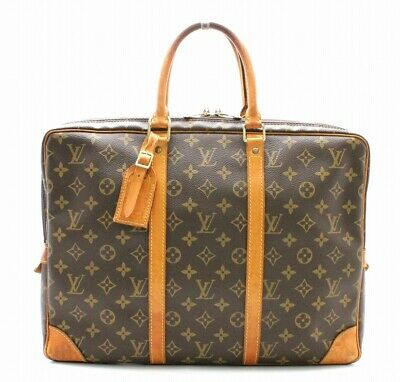 bcd1ea205615 Louis Vuitton Monogram Porto Document Man Vowayagg Document Bag Briefcase  Auth
