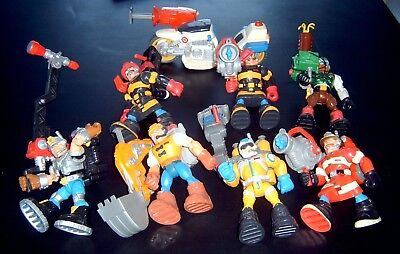 FISHER PRICE RESCUE HEROES  ACTION FIGURES VINTAGE from 1990's WHOLE LOT