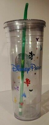 Disney Parks Starbucks Venti 24oz Cold Cup Acrylic Tumbler RETIRED NEW
