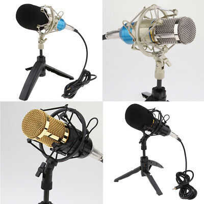 BM800 Condenser Microphone With Tripod Mic for Laptop Smartphone Computer