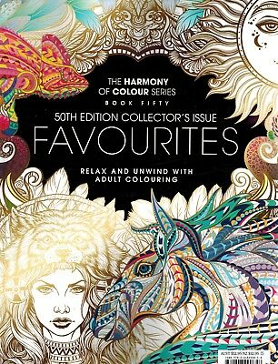 THE HARMONY OF COLOUR SERIES BOOK FIFTY 50th EDITION COLLECTOR'S ISSUE FAVOURITE
