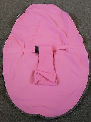 Genuine Doomoo Replacement Cover Top Zip On With Harness  In Pink Brand New