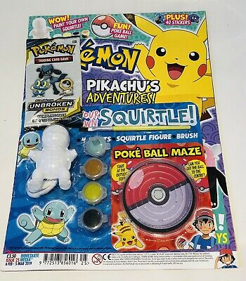 Pokémon OFFICIAL Magazine #25 With AMAZING COOL GIFTS! (BRAND NEW)