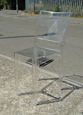 Ghost Chair By Philipe Starck For Kartell     Delivery Available