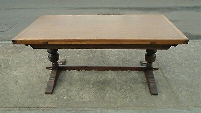 Large 10 Seater Old Charm Extending Table   Repolished Top   Delivery Available