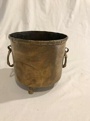Arts & Crafts Hand Made Brass Pot