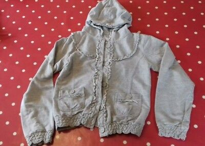 TU girls grey hoody age 12