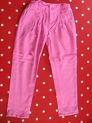 M&S Autograph Girls Pink Trousers Age 4-5