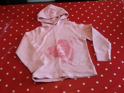 Next Girls Pink Hoody Age 8
