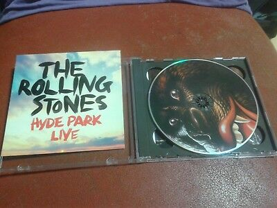 The Rolling Stones - Live In UK : Hyde Part 2013 July 6&13 2CD