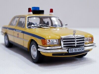 Diecast Mercedes-Benz 450SEL ( 1972 ) Police of USSR Scale 1:43