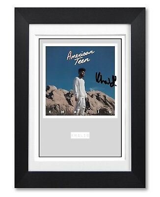 Khalid American Teen Album Cover Signed Poster Print Photo Autograph Gift